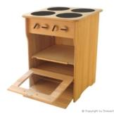 Spielzeugherd aus Holz - Herd 2030 - Qualität in Perfektion -