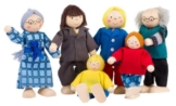 TOYS pure SO218 - Biegepuppen City-Familie -