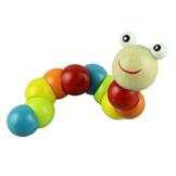 Vovotrade New Variety Twist-farbigen Insekten Holzspielzeug Lernspielzeug -