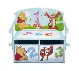 Winnie the Pooh Sitzbank & Schreibtisch mit Stauraum (Blau) -